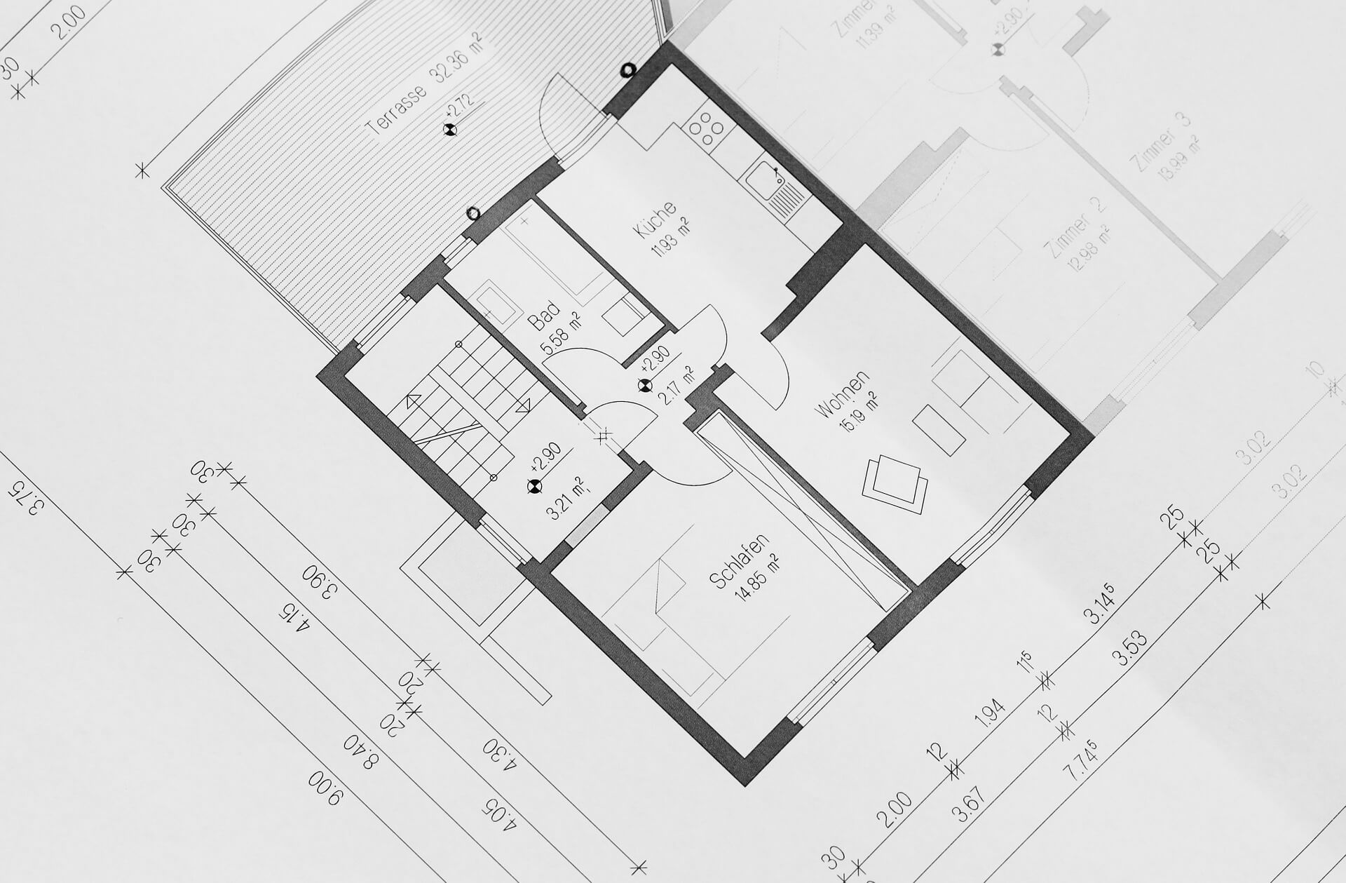 building-plan-354233_1920 店舗デザインの料金はどのくらい?具体的な内訳を紹介いたします!