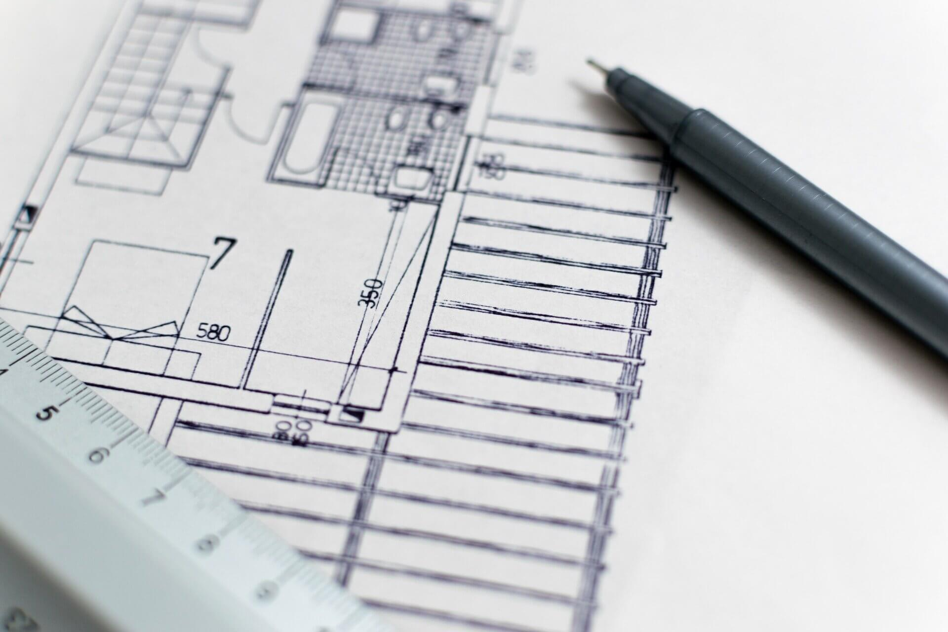 architecture-1857175_1920 内装工事をお考えの方は必見!デザイン料の算出方法をご紹介!